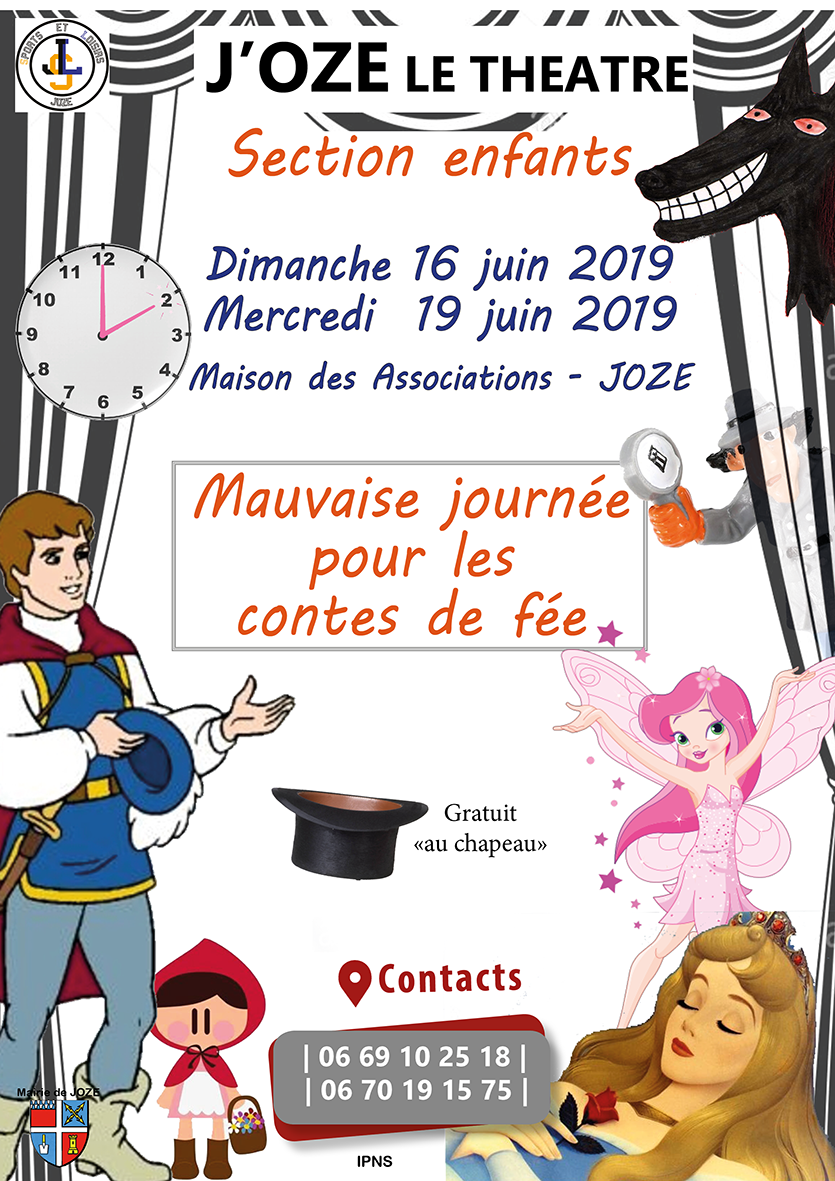 Affiche Mauvaise journee fee